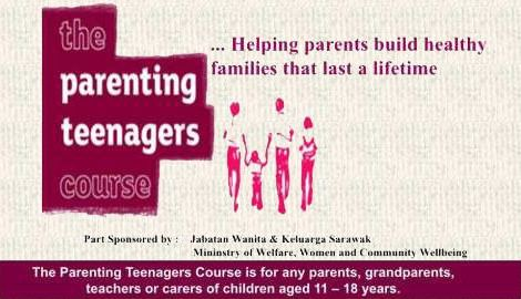parenting teenager course banner